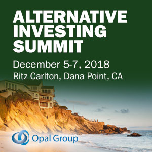 Alternative Investing Summit organized by Opal Group