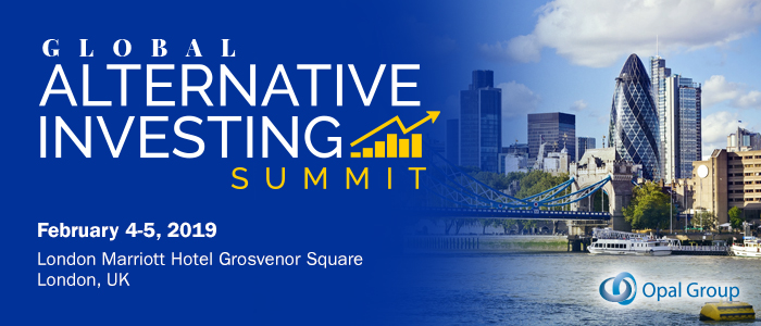 Global Alternative Investing Summit organized by Opal Group