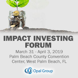 Impact Investing Forum organized by Opal Group