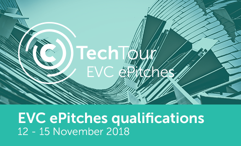 EVC ePitches qualifications 2018 organized by Tech Tour