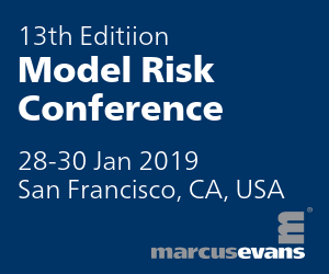13th Edition Model Risk organized by marcus evans