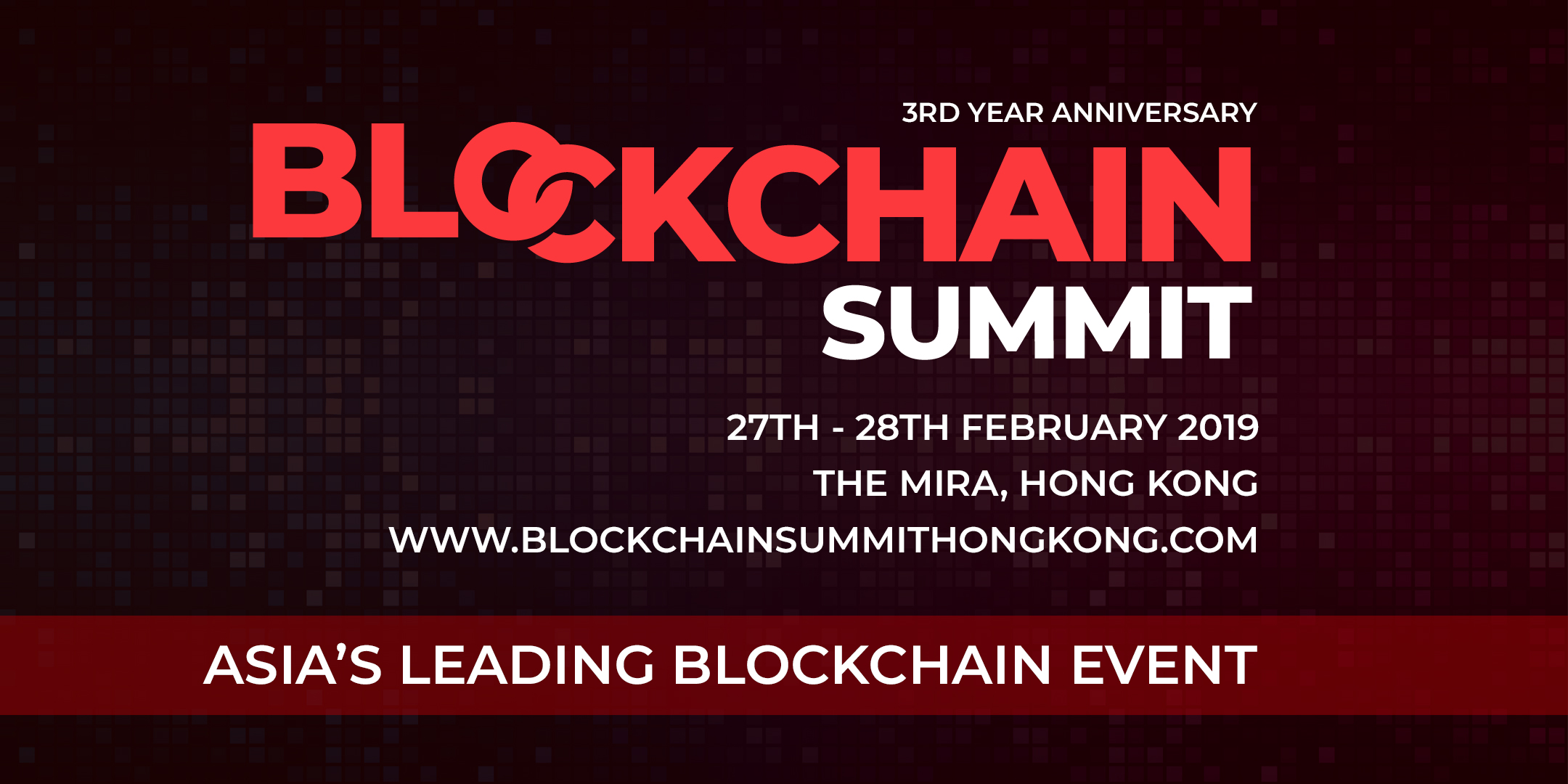 Blockchain Summit Hong Kong organized by Blockchain Summit Series