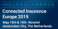 Connected Insurance Europe 2019 organized by Insurance Nexus