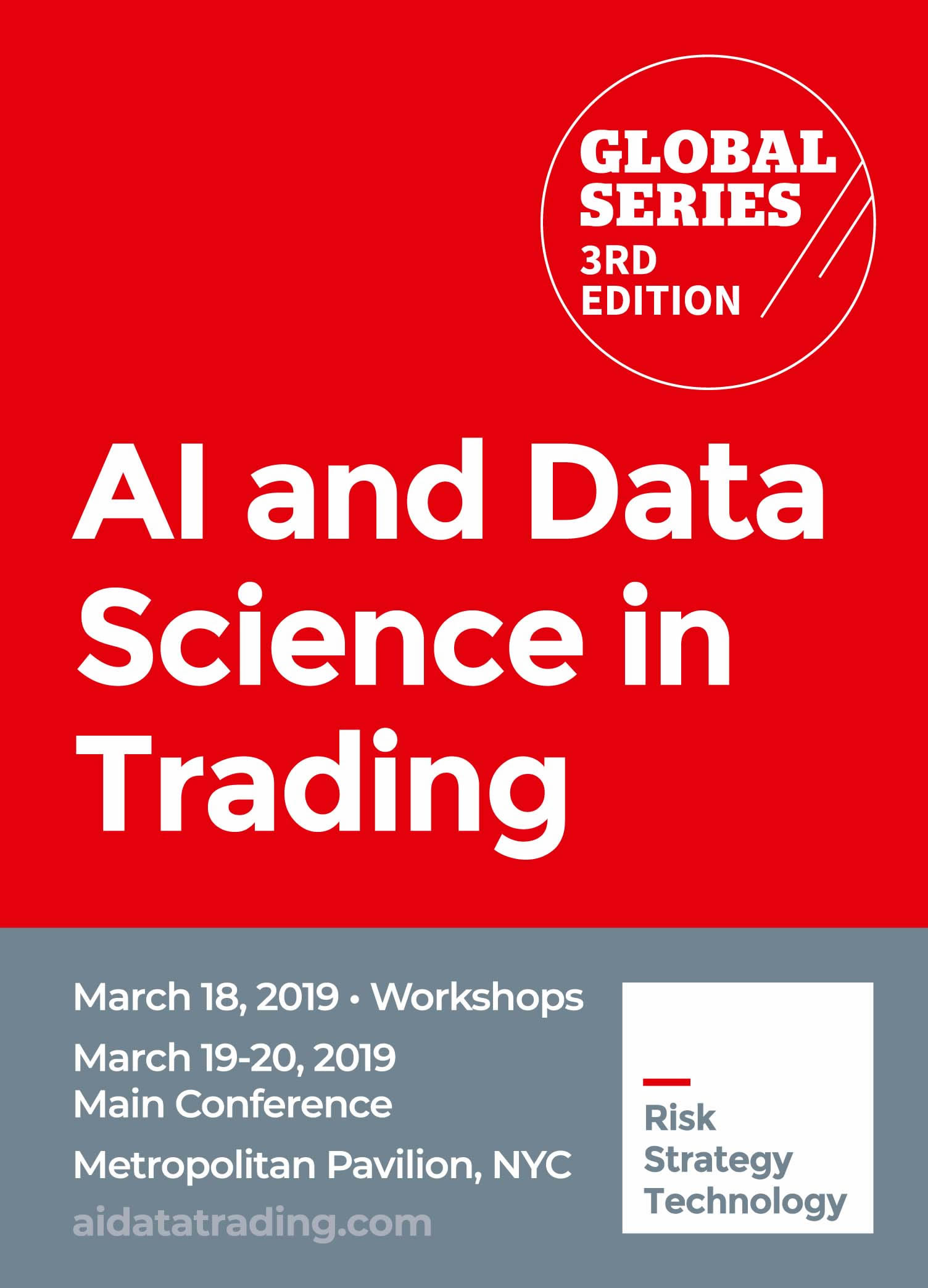 Artificial Intelligence & Data Science in Trading organized by Alpha Events