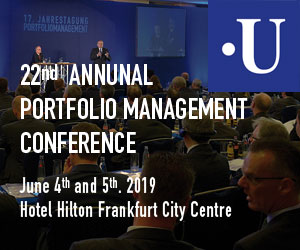 22nd Annual Portfolio Management Conference organized by Uhlenbruch GmbH
