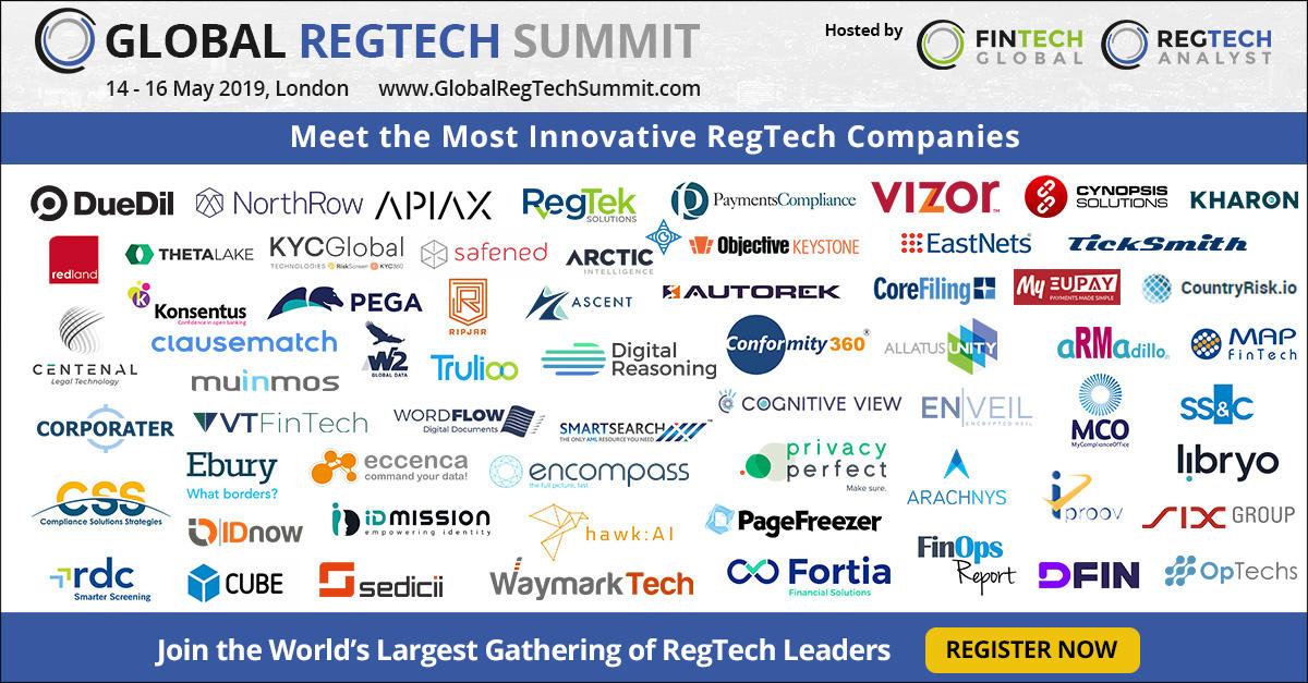 Article about Global RegTech Summit