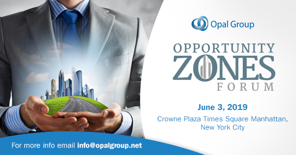 Opportunity Zones Forum organized by Opal Group