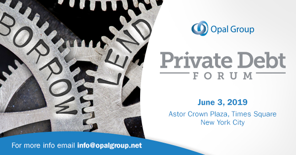 Private Debt Forum organized by Opal Group
