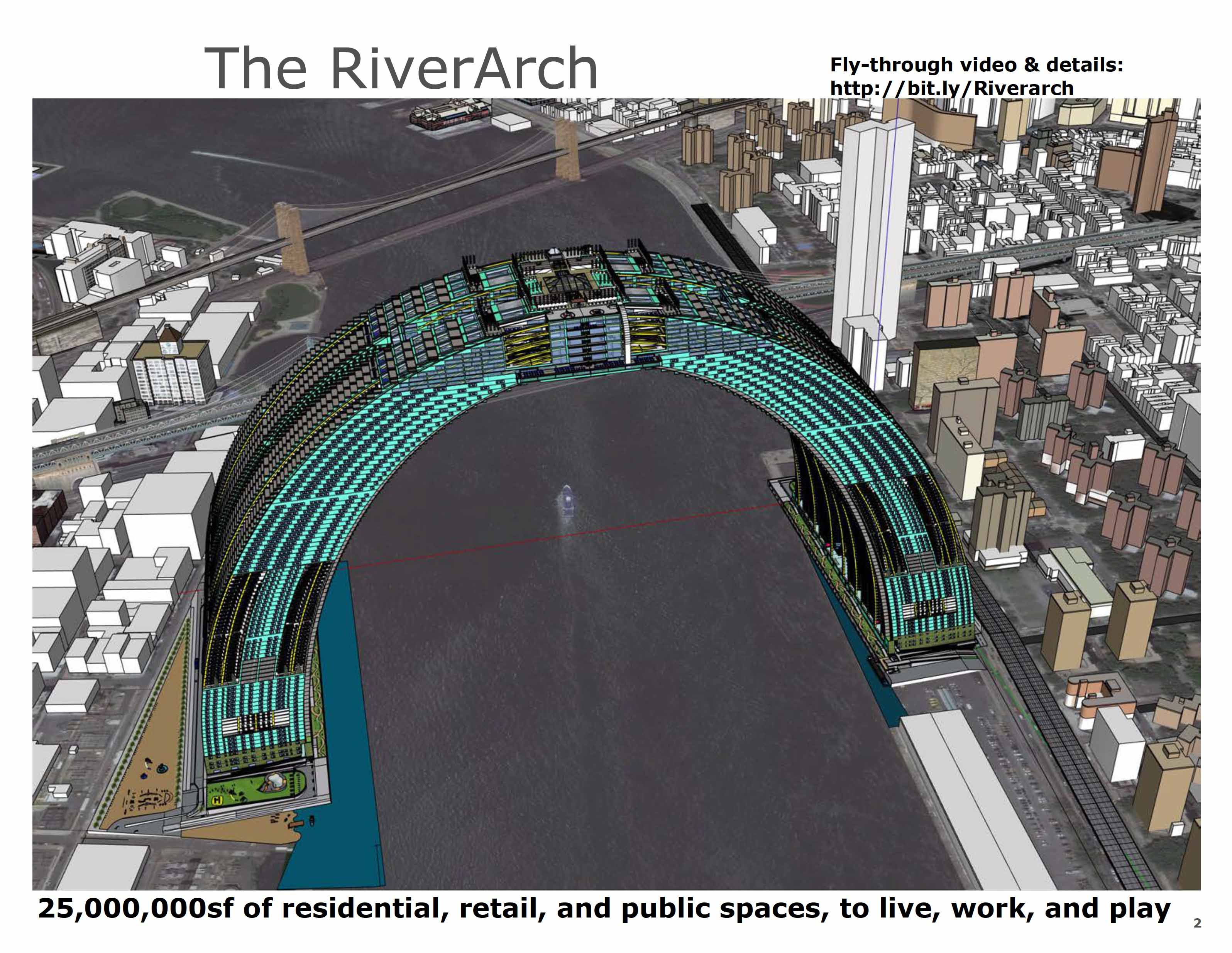 Article about The RiverArch