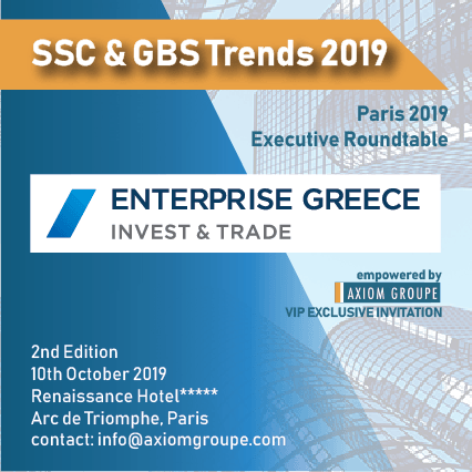 SSC & GBS Trends 2019 organized by https://axiomgroupe.com/index.php/conferences-shop/319-gbs-and-sscs-2th-edt-october-2019.html