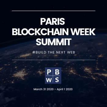 Paris Blockchain Week Summit 2020 organized by 4Finance