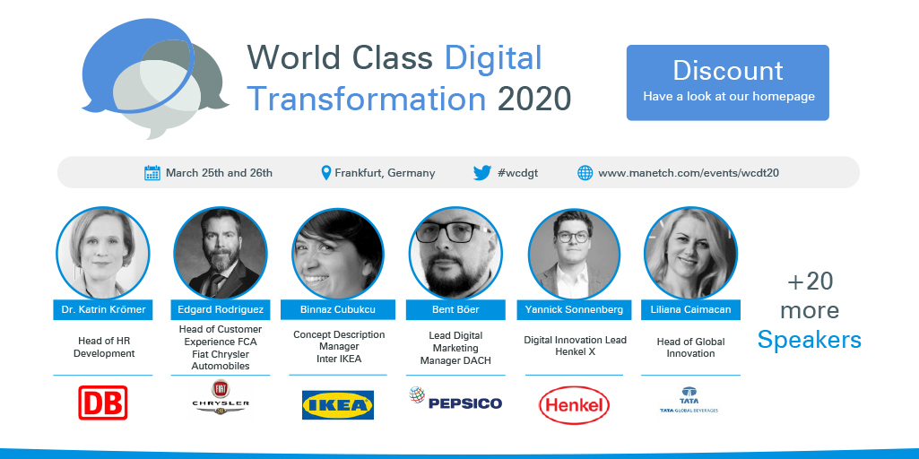 Article about Dive into Digitalization at the World Class Digital Transformation 2020