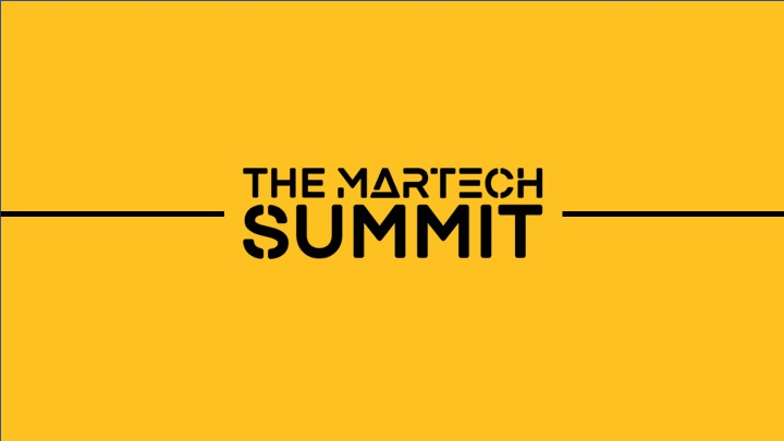 Article about The MarTech Summits 2020