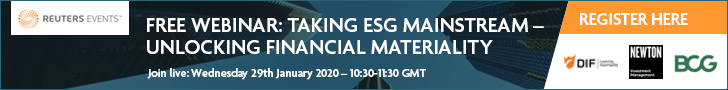 Article about Unlock Financial Materiality – Take ESG Mainstream