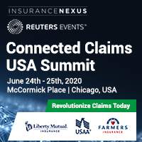Connected Claims USA 2020 organized by Insurance Nexus by Reuters Events