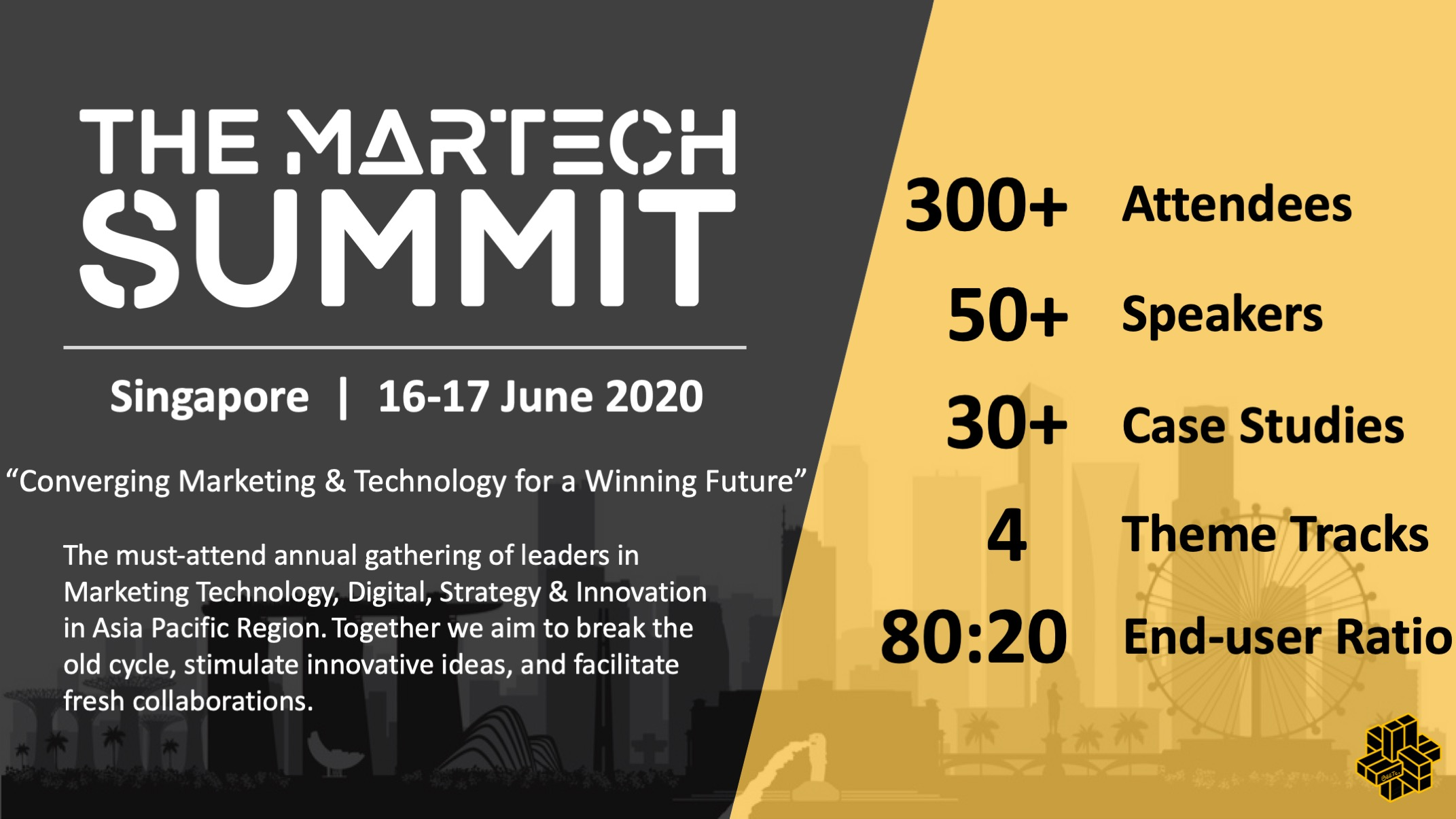 The MarTech Summit Singapore organized by BEETc