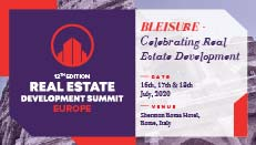 12th Edition Real Estate Development Summit - Europe organized by GBB Venture