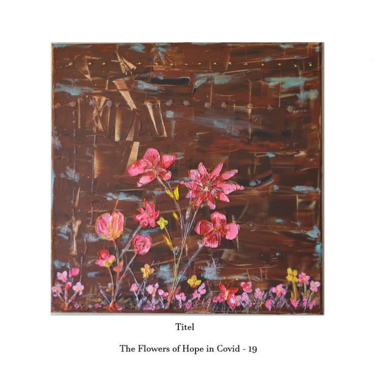 Article about The Flowers of Hope in Covid - 19