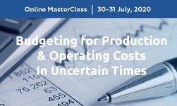 Budgeting for Production & Operating Costs MasterClass organized by GLC Europe