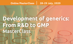 Development of generics: From R&D to GMP MasterClass organized by GLC Europe