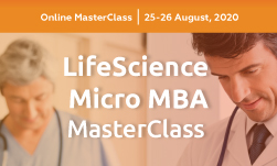 LifeScience Micro MBA MasterClass organized by GLC Europe