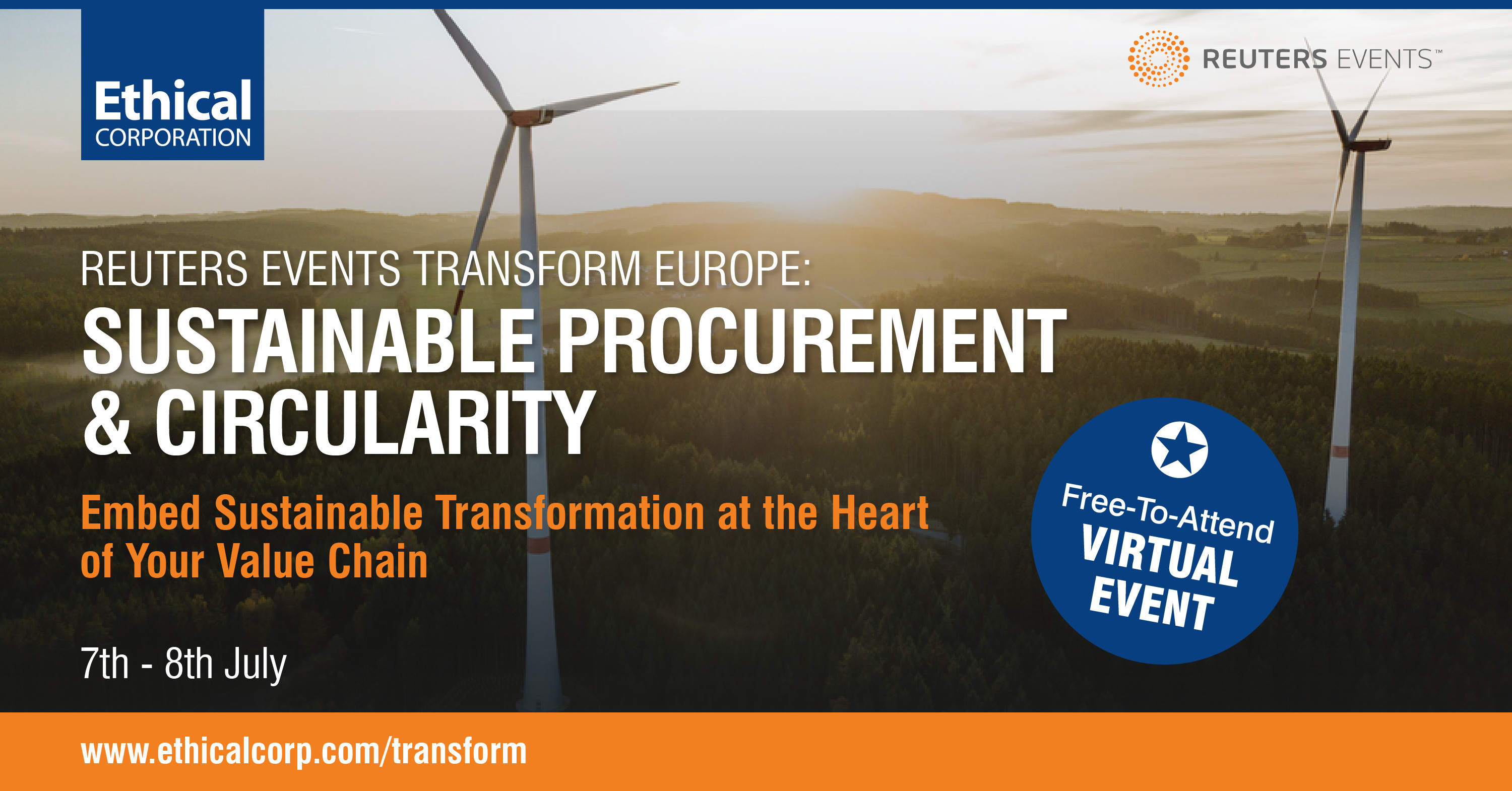 Transform Europe Virtual Series organized by Reuters Events