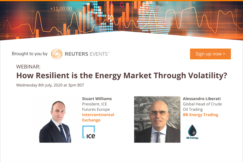 Article about Reuters Events Discuss the Resilience of the Energy Market Through Volatility