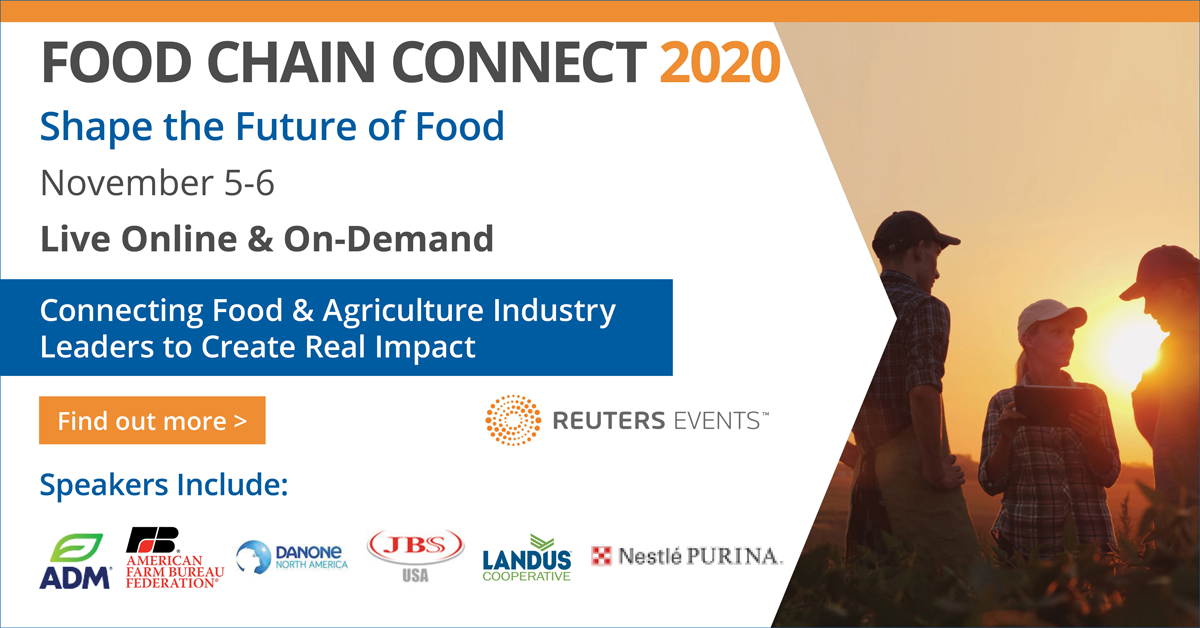 Reuters Events: Food Chain Connect 2020 organized by Reuters Events