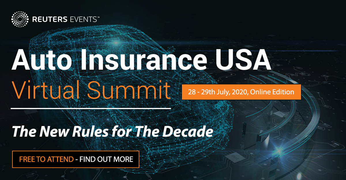 Auto Insurance USA Virtual Summit organized by Insurance Nexus by Reuters Events