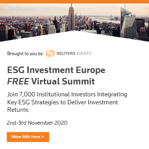 ESG Investment Europe Virtual Summit organized by Reuters Events