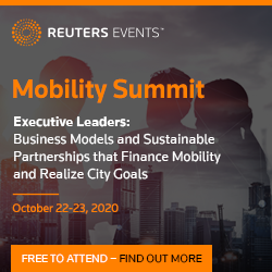 Reuters Events Mobility Summit organized by Reuters Events