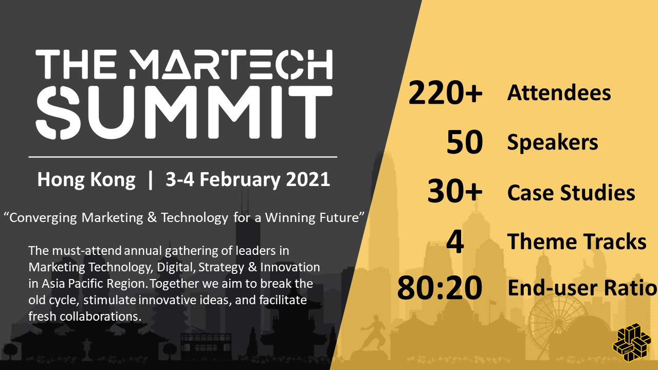 The MarTech Summit Hong Kong organized by BEETc