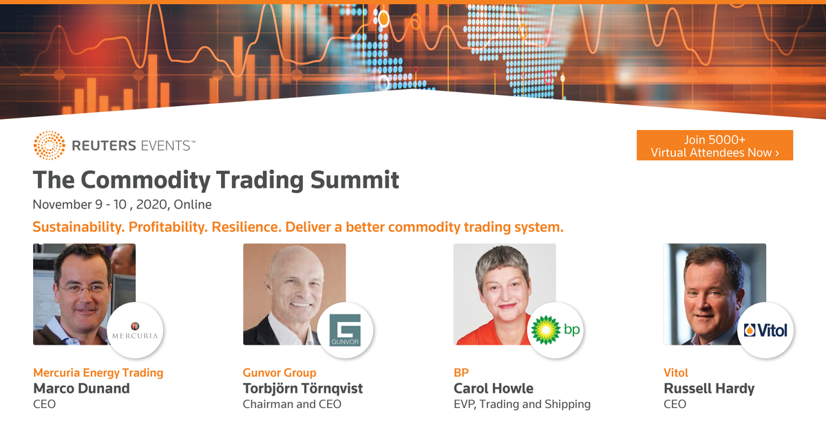 Reuters Events Commodity Trading Summit organized by Reuters Events