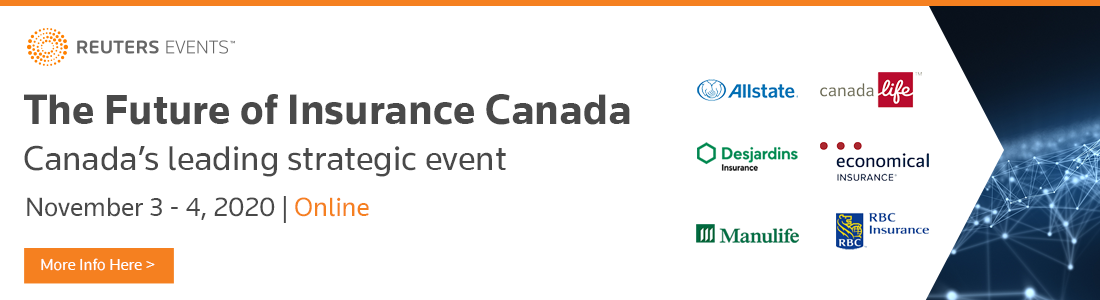 Article about The Future of Insurance Canada: Registration is live for Reuters Events' C-Suite-driven online event