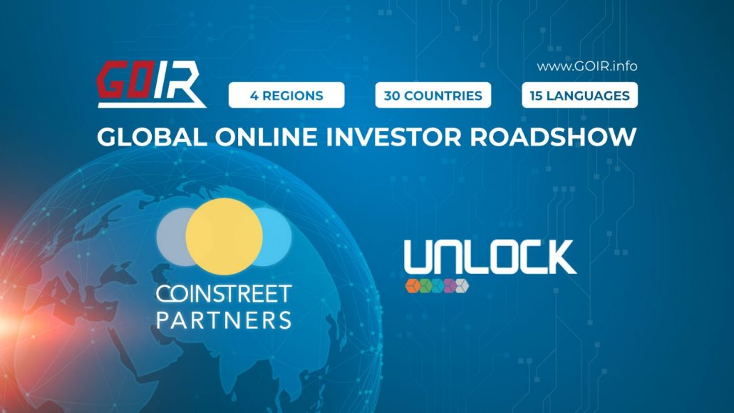 Article about Coinstreet Partners' Collaboration with UNLOCK – the First and Only Blockchain Media Platform in the MENA Region