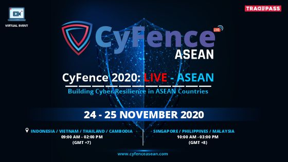 CYFENCE 2020 : LIVE - ASEAN organized by Tradepass