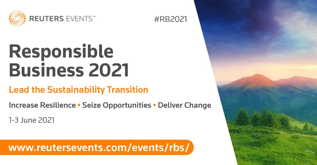Article about Natura Group, Aviva Investor and European Commission joined Reuters Events new and revamped Responsible Business Week 2021