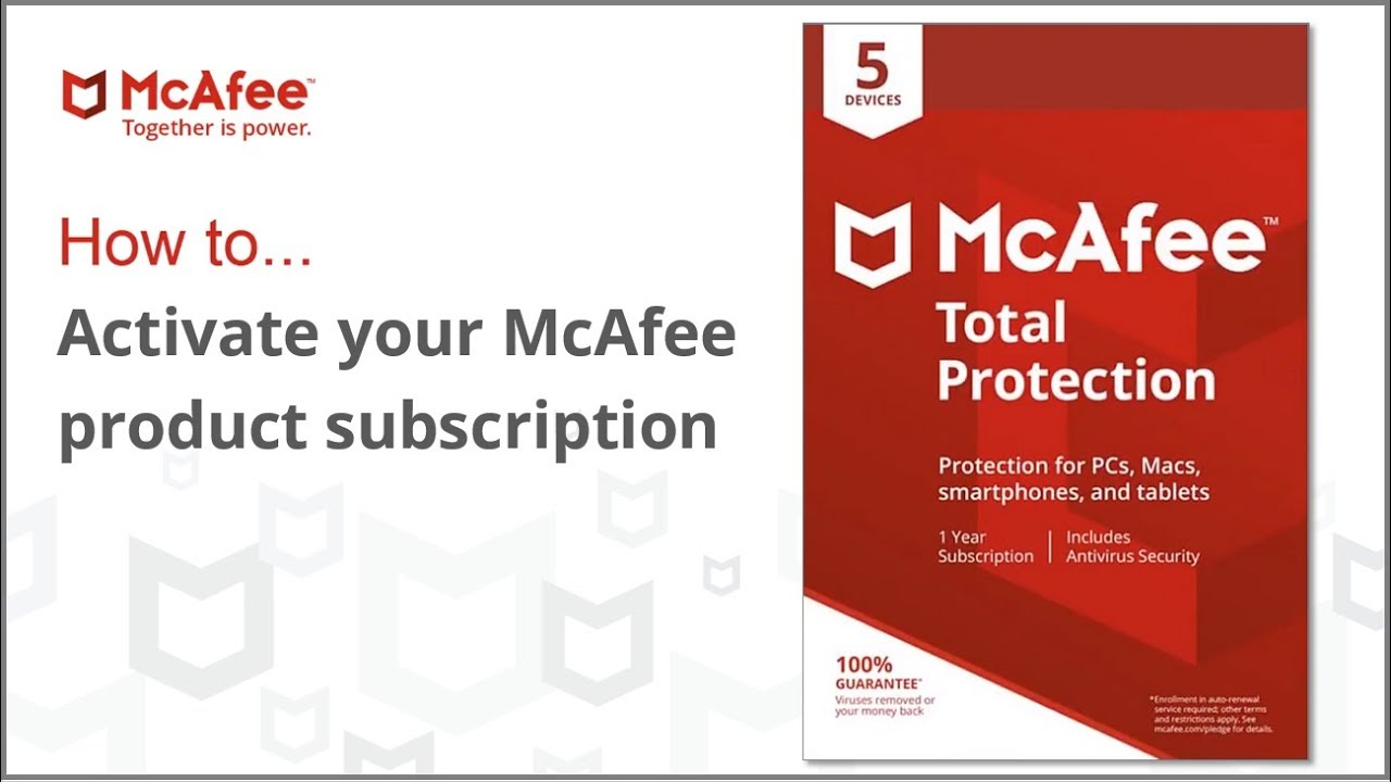 Article about How to fix common issues with McAfee Total Protection