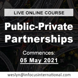 Public-Private Partnerships (Live Online Course) organized by Infocus International Group